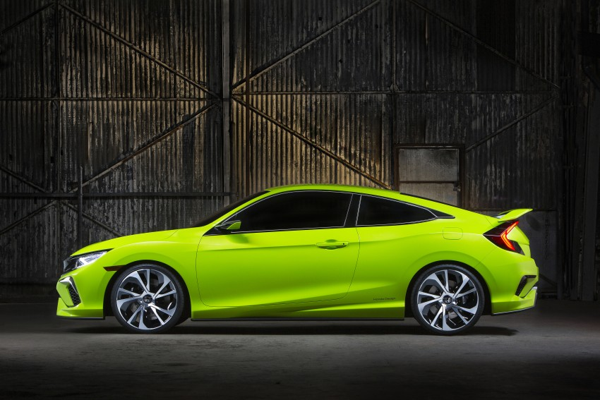 Honda Civic Concept debuts in NYC, previews tenth-gen for ASEAN – Type R hatch confirmed for US Image #323875