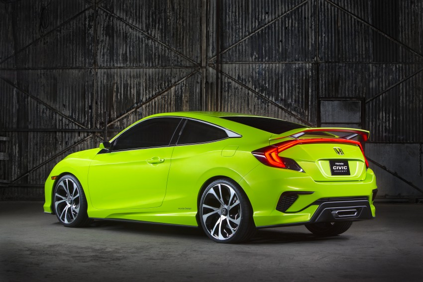 Honda Civic Concept debuts in NYC, previews tenth-gen for ASEAN – Type R hatch confirmed for US Image #323881
