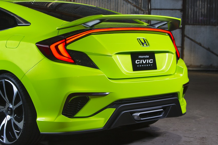 Honda Civic Concept debuts in NYC, previews tenth-gen for ASEAN – Type R hatch confirmed for US Image #323885
