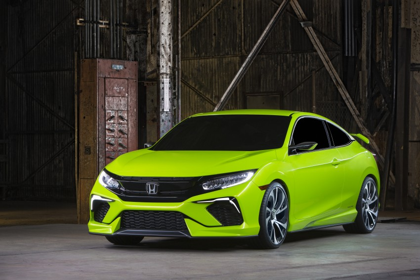 Honda Civic Concept debuts in NYC, previews tenth-gen for ASEAN – Type R hatch confirmed for US Image #323884