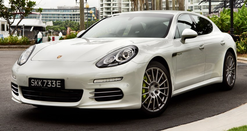 DRIVEN: Porsche Panamera S E-Hybrid in Singapore Image #332509