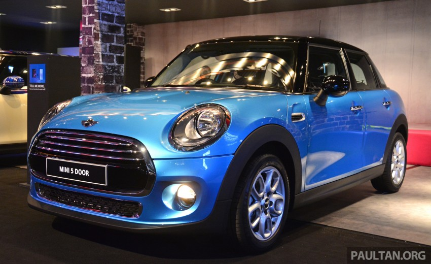 F55 MINI Cooper 5 Door launched in Malaysia, RM189k Image #328990