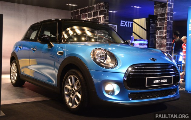 F55 Mini Cooper 5 Door Launched In Malaysia Rm189k