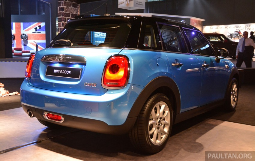 F55 MINI Cooper 5 Door launched in Malaysia, RM189k Image #328993