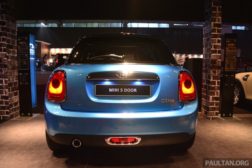 F55 MINI Cooper 5 Door launched in Malaysia, RM189k Image #328994