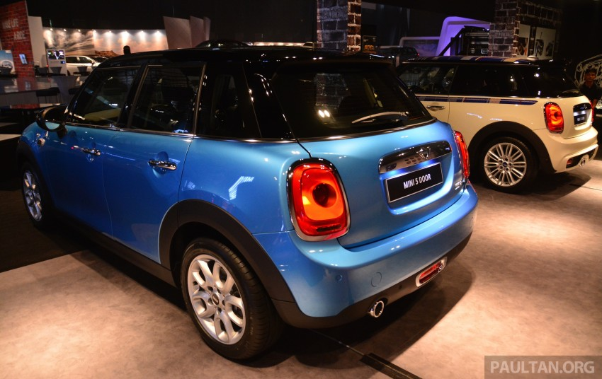 F55 MINI Cooper 5 Door launched in Malaysia, RM189k Image #328995