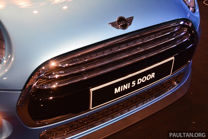 F55 MINI Cooper 5 Door launched in Malaysia, RM189k Image #328997