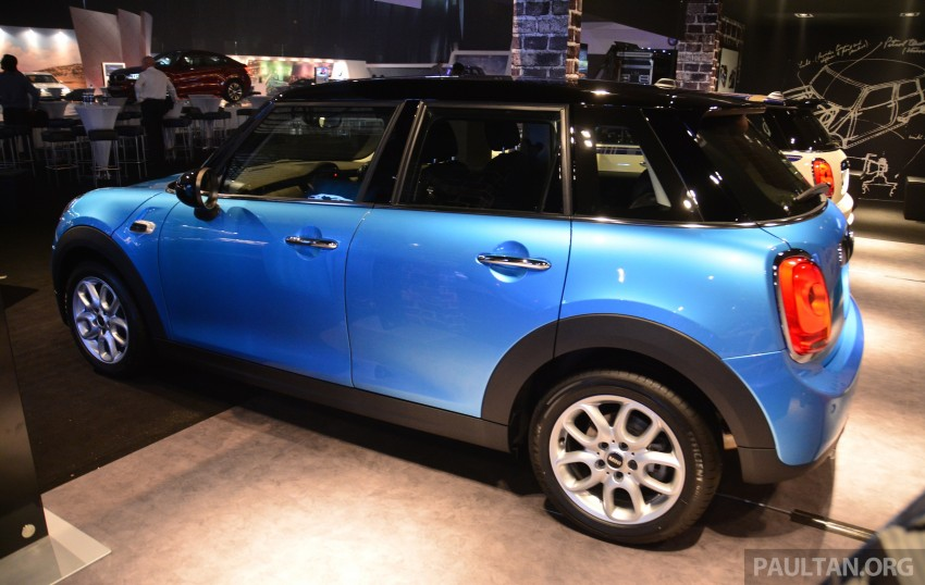 F55 MINI Cooper 5 Door launched in Malaysia, RM189k Image #329000