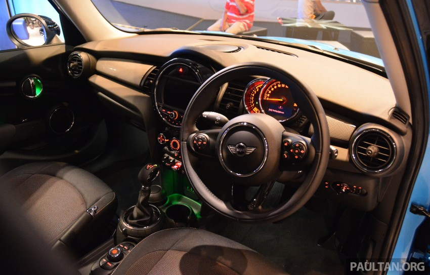 F55 MINI Cooper 5 Door launched in Malaysia, RM189k Image #329002