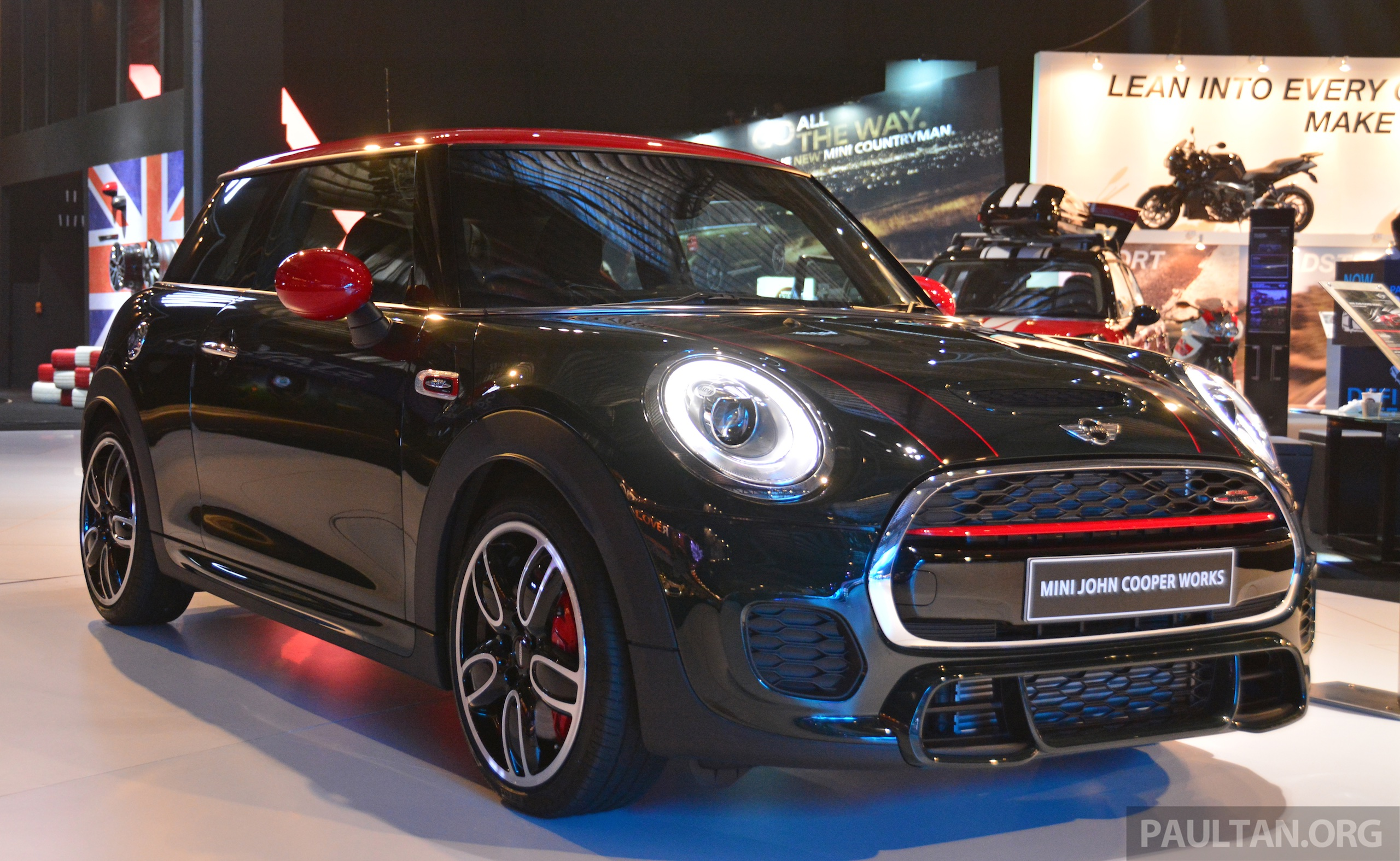 f56 mini jcw launched in malaysia rm288 888. Black Bedroom Furniture Sets. Home Design Ideas