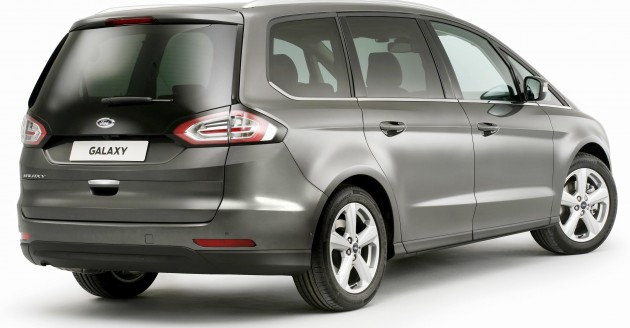 Ford Reveals All-New Galaxy; Luxurious Seven-Seater Offers First