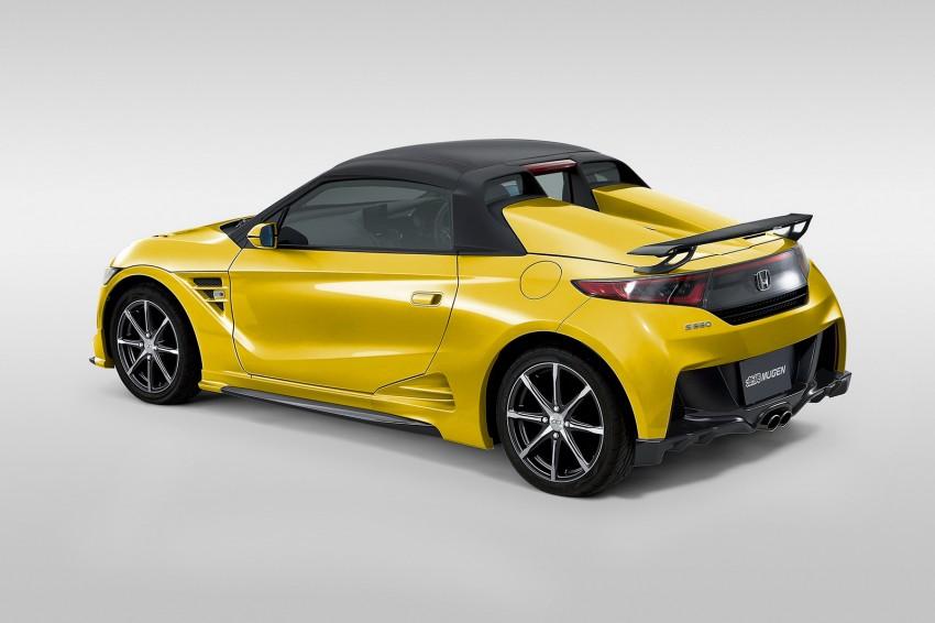 Honda S660 <em>kei</em>-roadster gets kitted up by Mugen Image #325748