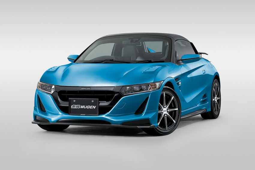 Honda S660 <em>kei</em>-roadster gets kitted up by Mugen Image #325739