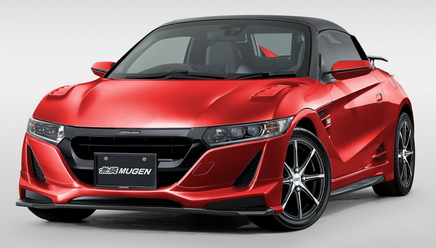 Honda S660 <em>kei</em>-roadster gets kitted up by Mugen Image #325741