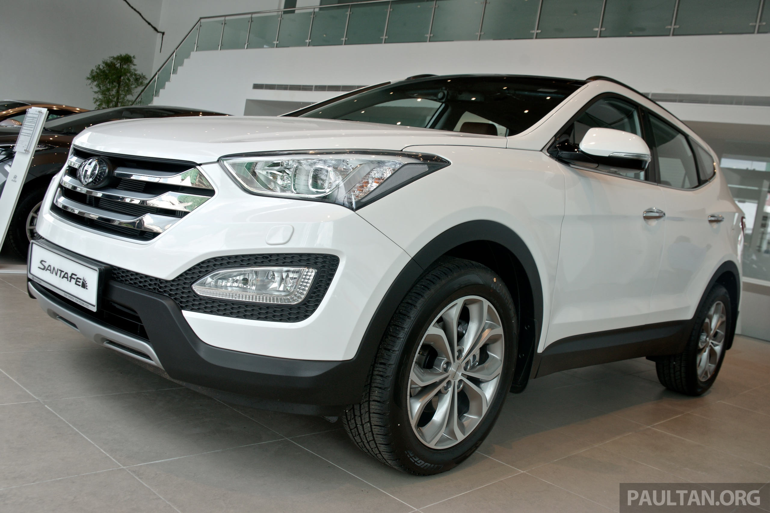 hyundai santa fe premium 6 airbags rm179k 191k. Black Bedroom Furniture Sets. Home Design Ideas