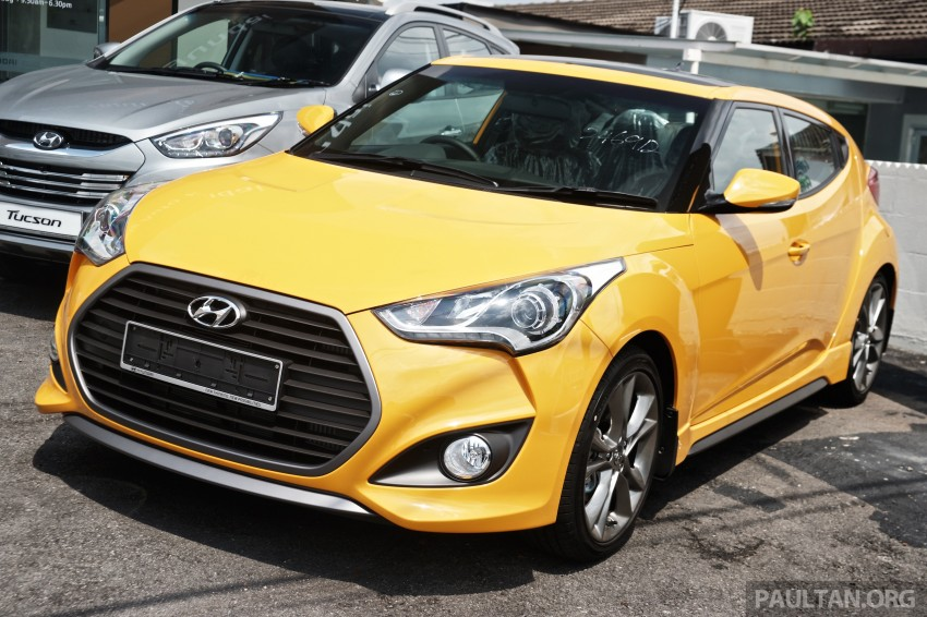 Hyundai Veloster Turbo launched in Malaysia, RM148k Image #329445