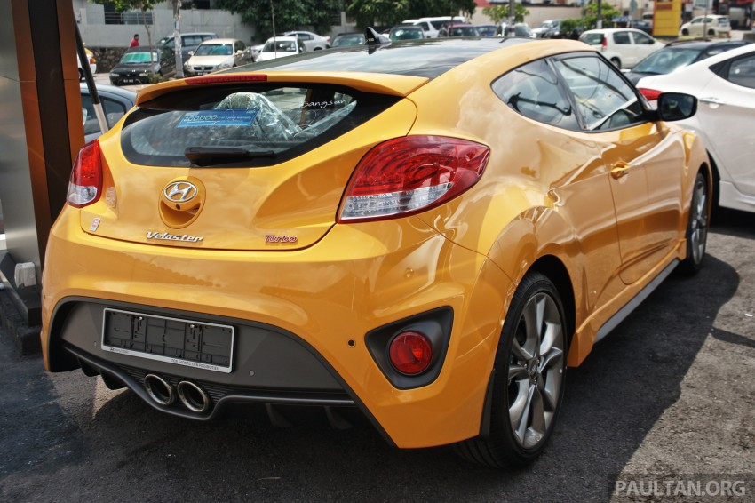 Hyundai Veloster Turbo launched in Malaysia, RM148k Image #329446