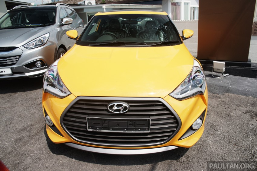 Hyundai Veloster Turbo launched in Malaysia, RM148k Image #329447
