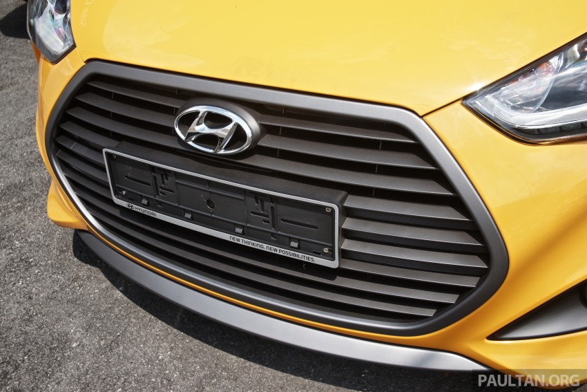 Hyundai Veloster Turbo launched in Malaysia, RM148k Image #329448
