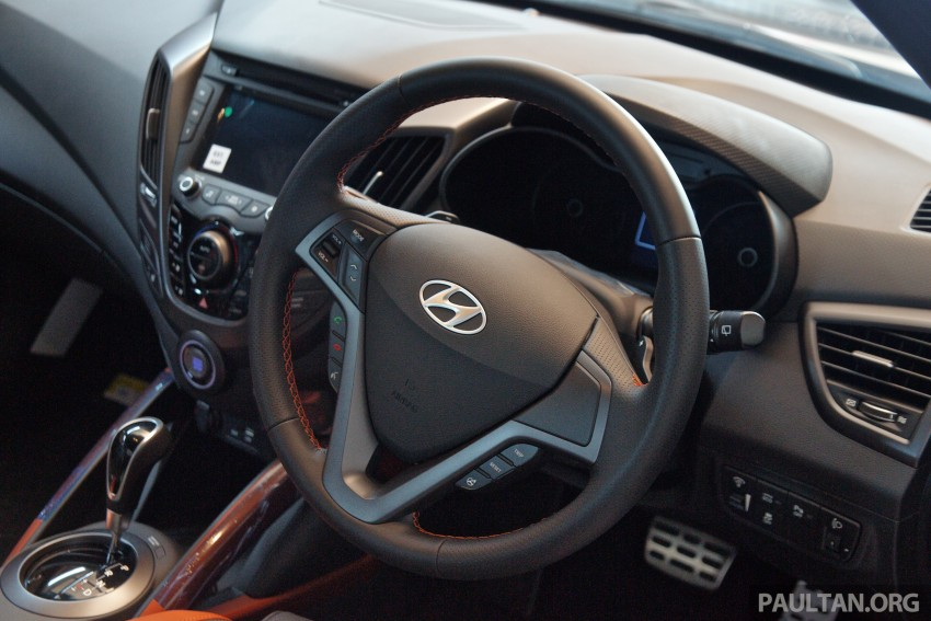 Hyundai Veloster Turbo launched in Malaysia, RM148k Image #329453
