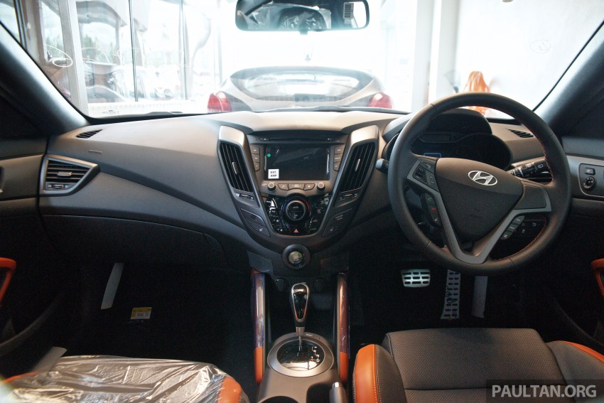 Hyundai Veloster Turbo launched in Malaysia, RM148k Image #329454