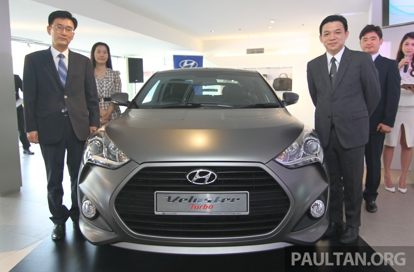 Hyundai Veloster Turbo launched in Malaysia, RM148k Image #329455