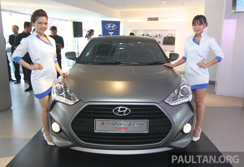 Hyundai Veloster Turbo launched in Malaysia, RM148k Image #329548