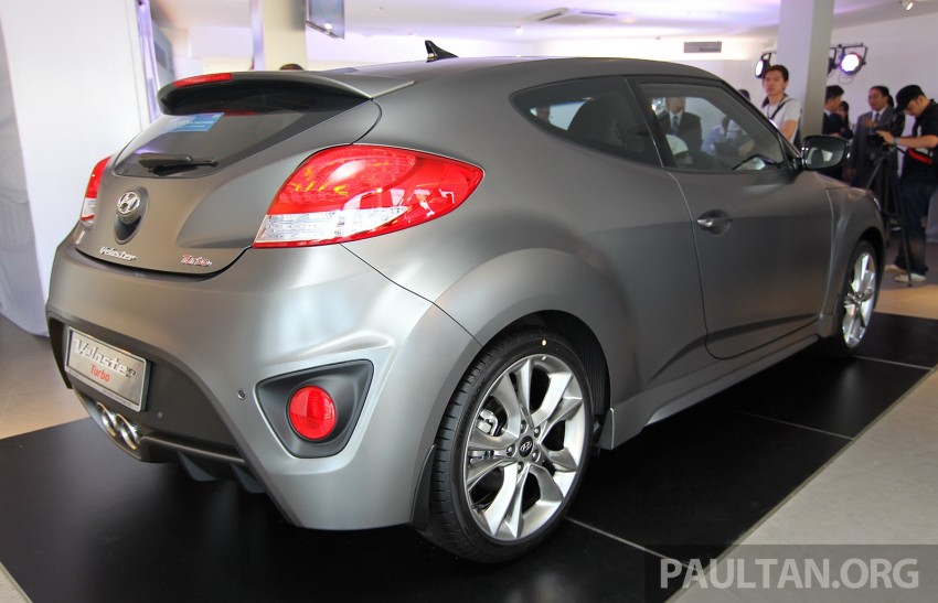 Hyundai Veloster Turbo launched in Malaysia, RM148k Image #329552