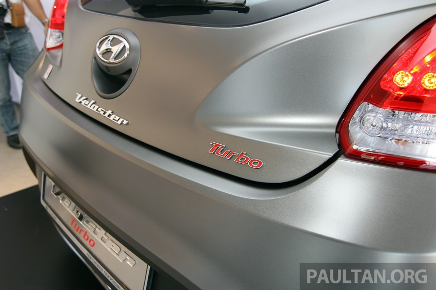 Hyundai Veloster Turbo launched in Malaysia, RM148k Image #329554