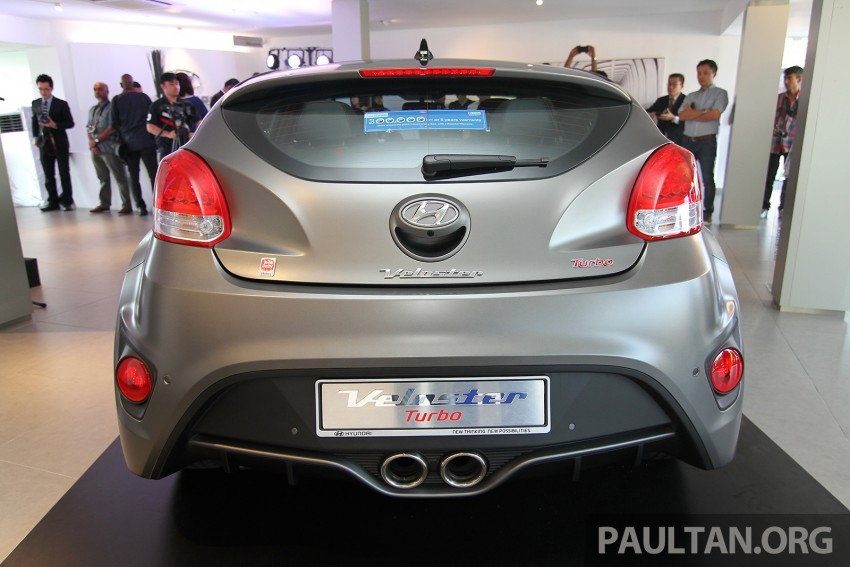 Hyundai Veloster Turbo launched in Malaysia, RM148k Image #329555