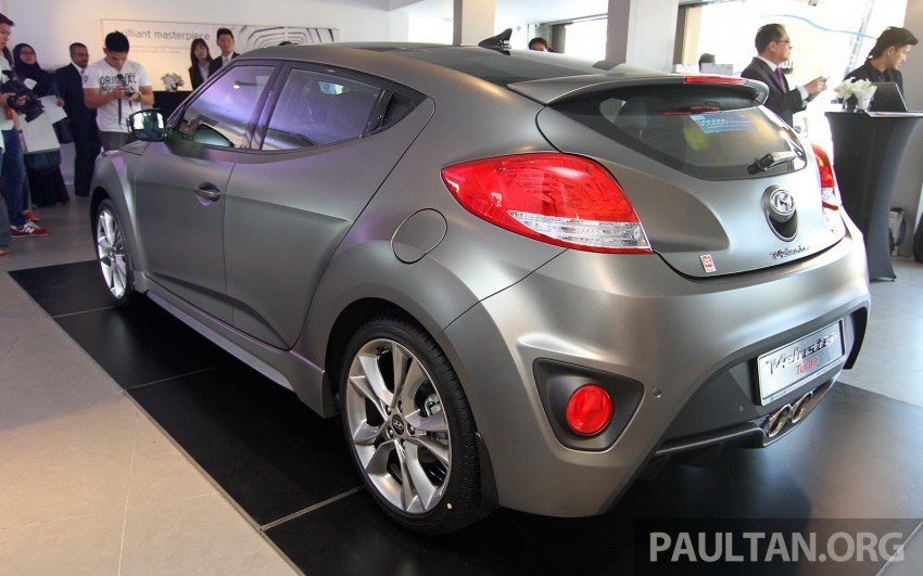 Hyundai Veloster Turbo launched in Malaysia, RM148k Image #329557