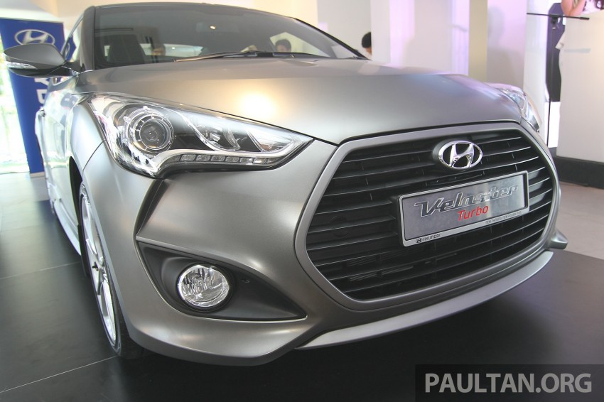 Hyundai Veloster Turbo launched in Malaysia, RM148k Image #329540