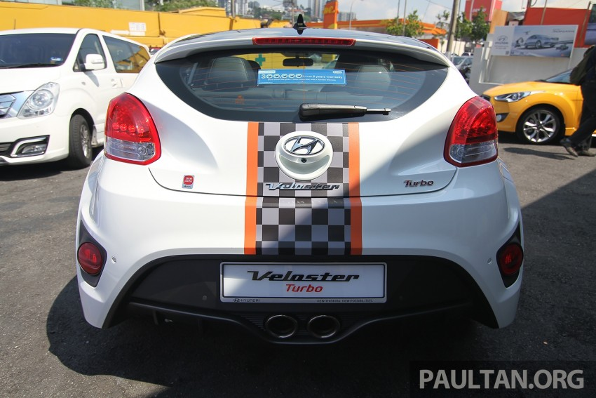 Hyundai Veloster Turbo launched in Malaysia, RM148k Image #329542