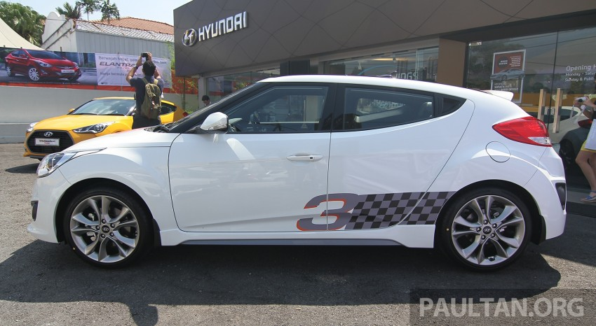 Hyundai Veloster Turbo launched in Malaysia, RM148k Image #329543