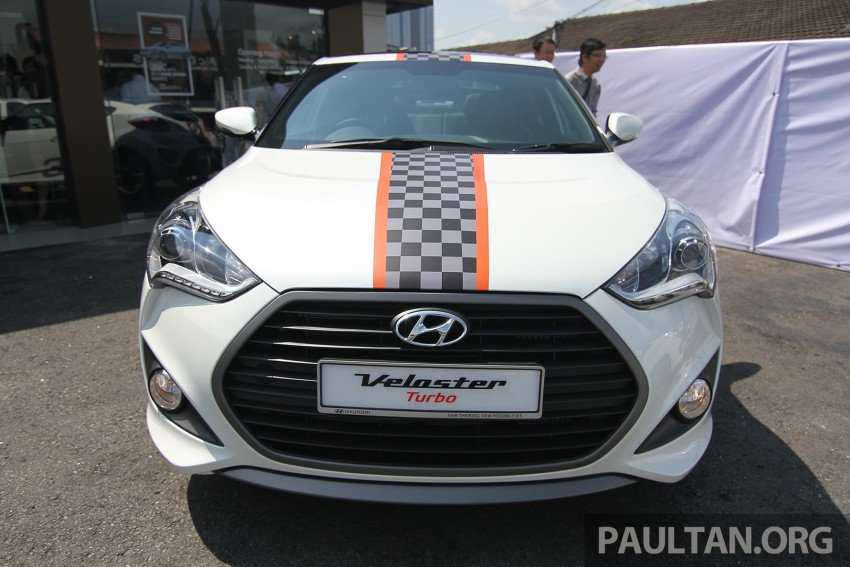Hyundai Veloster Turbo launched in Malaysia, RM148k Image #329544