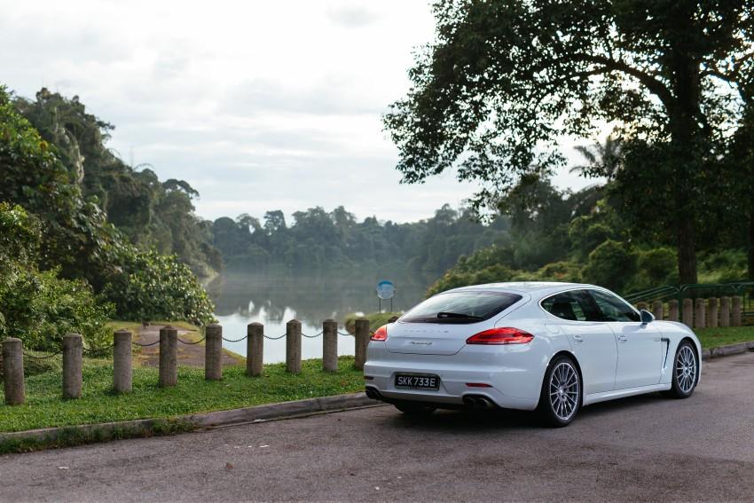 DRIVEN: Porsche Panamera S E-Hybrid in Singapore Image #332512