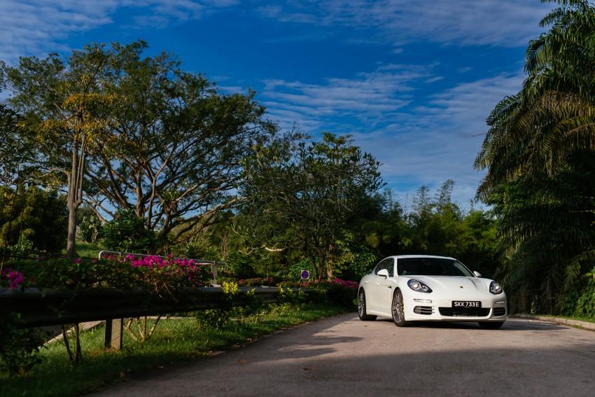 DRIVEN: Porsche Panamera S E-Hybrid in Singapore Image #332513