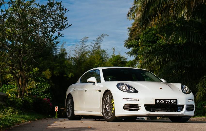 DRIVEN: Porsche Panamera S E-Hybrid in Singapore Image #332514