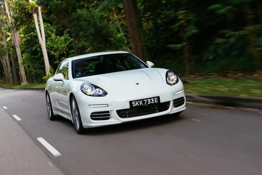 DRIVEN: Porsche Panamera S E-Hybrid in Singapore Image #332491