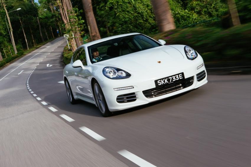 DRIVEN: Porsche Panamera S E-Hybrid in Singapore Image #332492