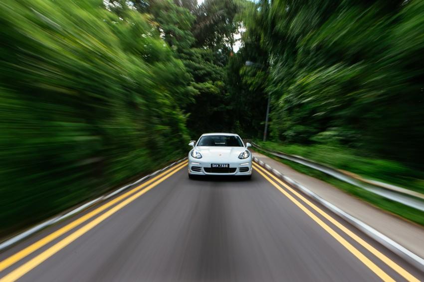 DRIVEN: Porsche Panamera S E-Hybrid in Singapore Image #332494