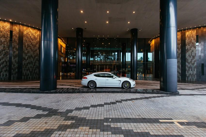 DRIVEN: Porsche Panamera S E-Hybrid in Singapore Image #332516