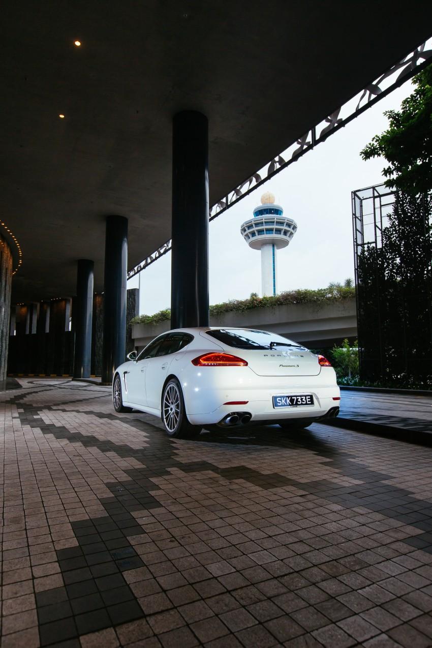 DRIVEN: Porsche Panamera S E-Hybrid in Singapore Image #332517