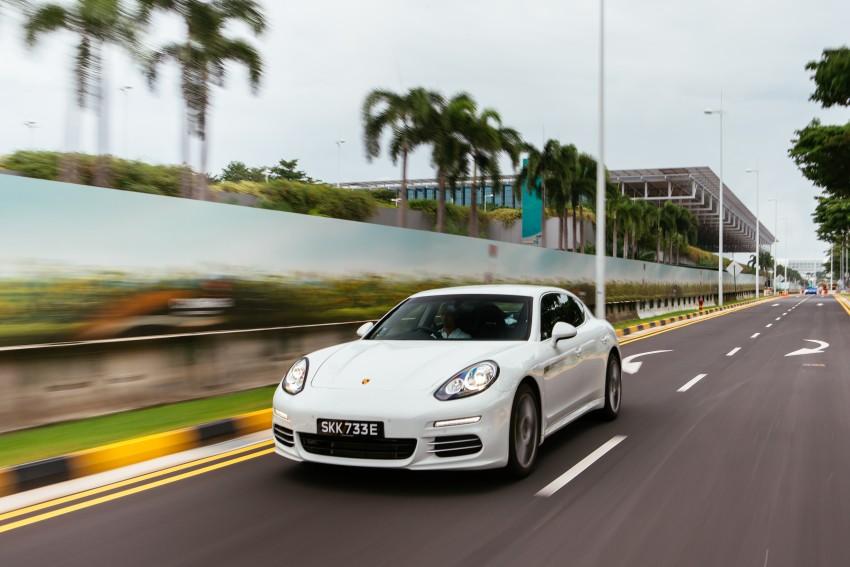 DRIVEN: Porsche Panamera S E-Hybrid in Singapore Image #332495