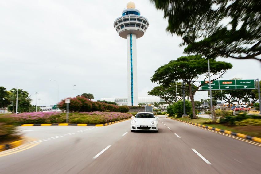 DRIVEN: Porsche Panamera S E-Hybrid in Singapore Image #332497