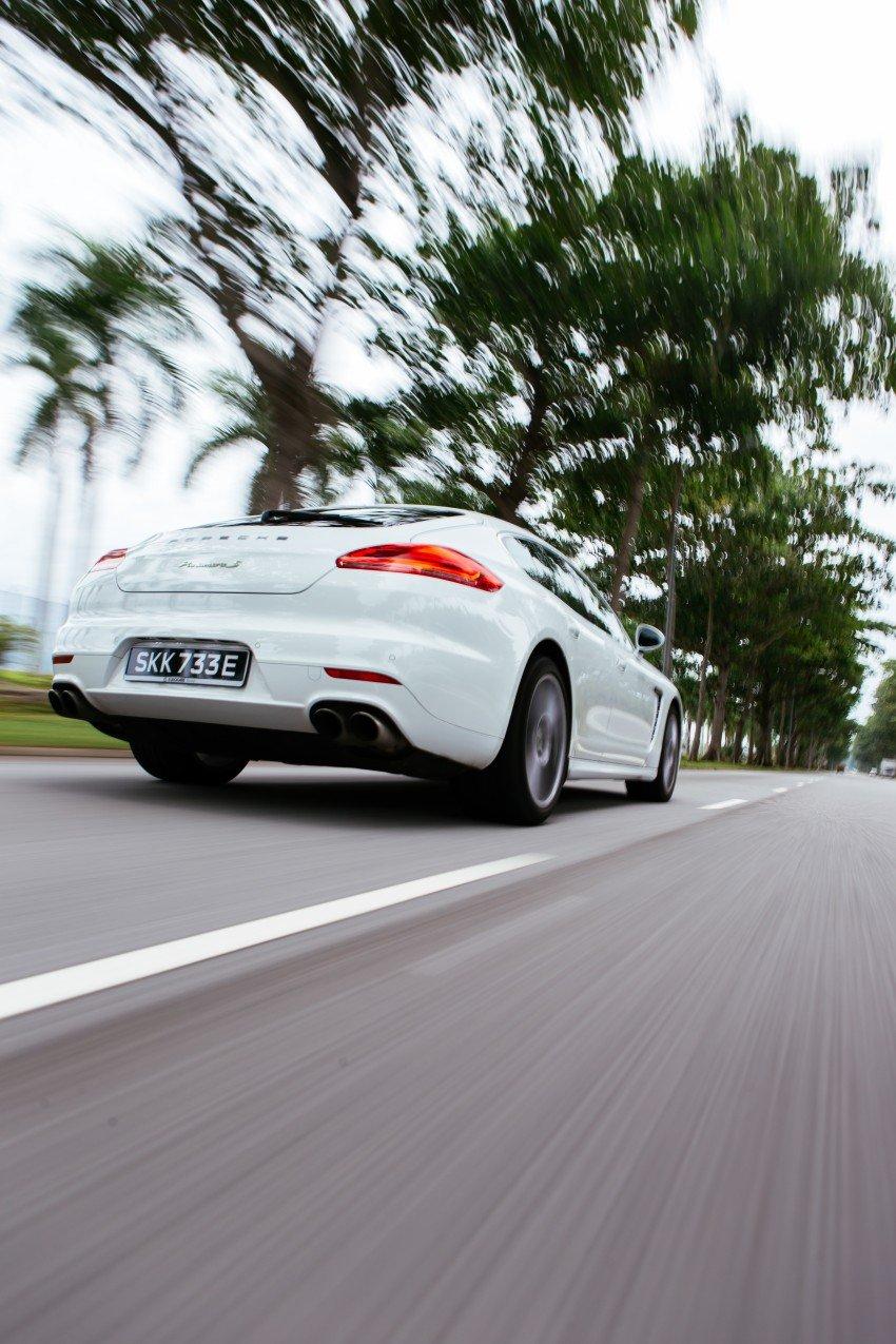 DRIVEN: Porsche Panamera S E-Hybrid in Singapore Image #332499
