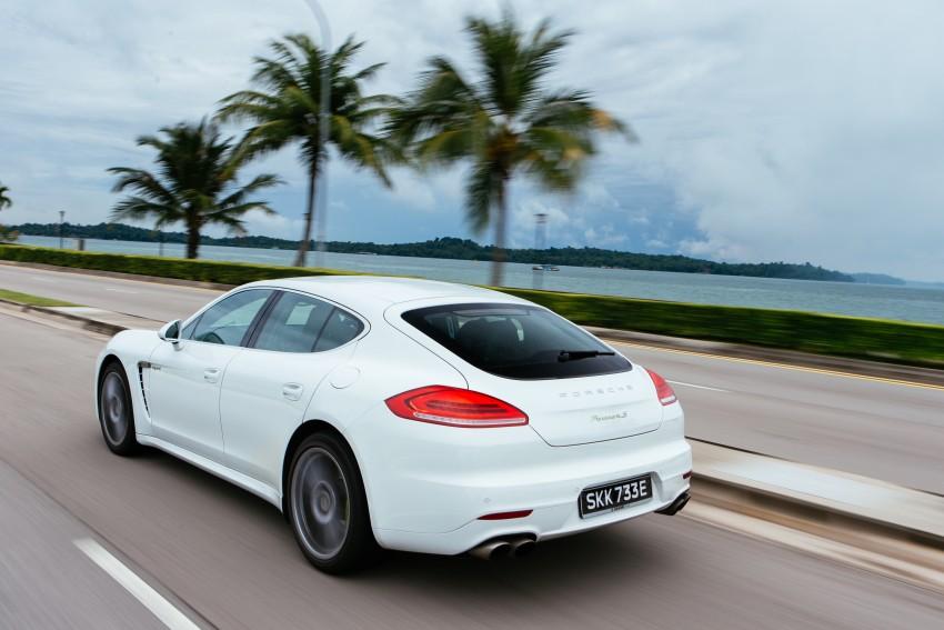 DRIVEN: Porsche Panamera S E-Hybrid in Singapore Image #332502