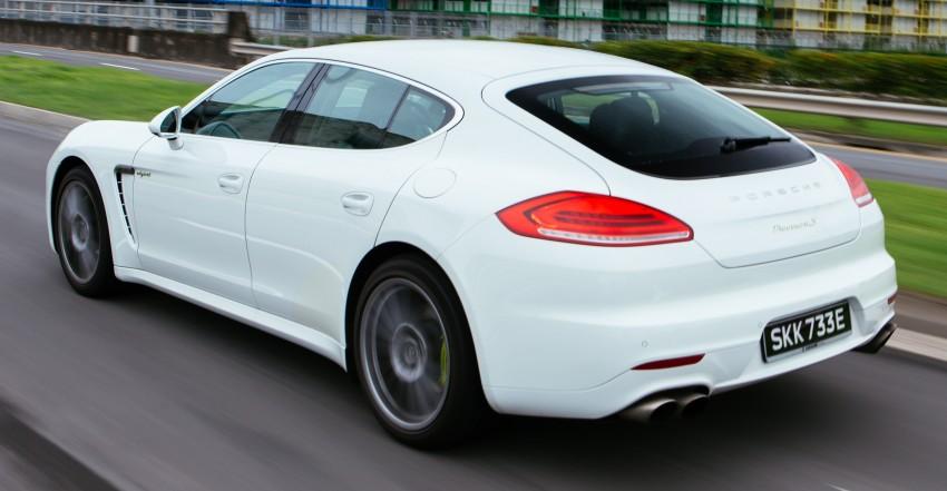 DRIVEN: Porsche Panamera S E-Hybrid in Singapore Image #332503