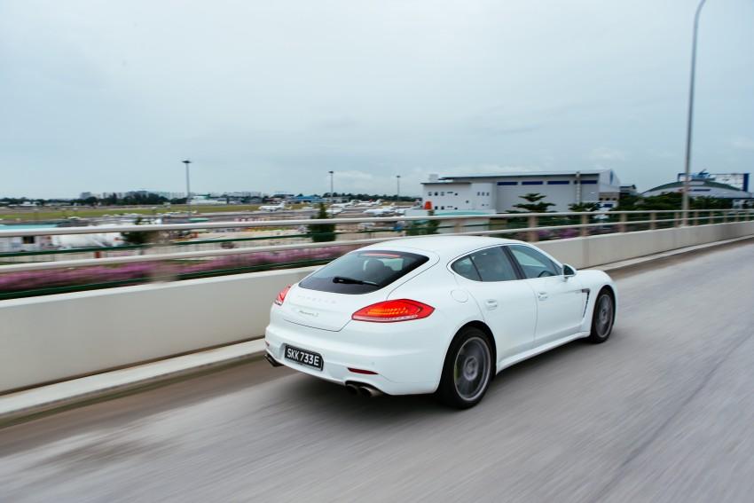 DRIVEN: Porsche Panamera S E-Hybrid in Singapore Image #332504