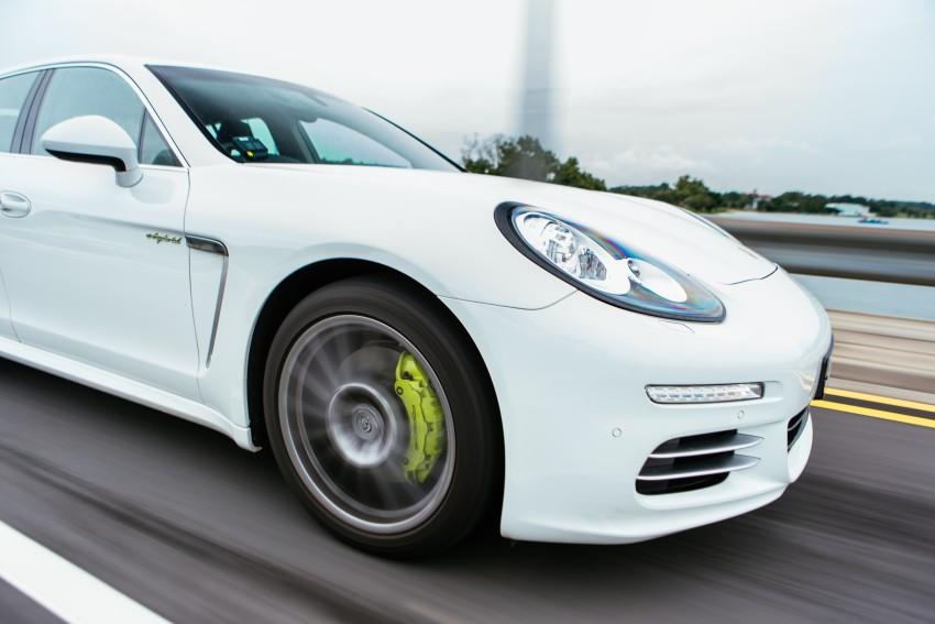 DRIVEN: Porsche Panamera S E-Hybrid in Singapore Image #332505